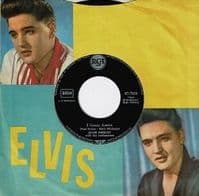 ELVIS PRESLEY Are You Lonesome Tonight Vinyl Record 7 Inch German RCA 1961